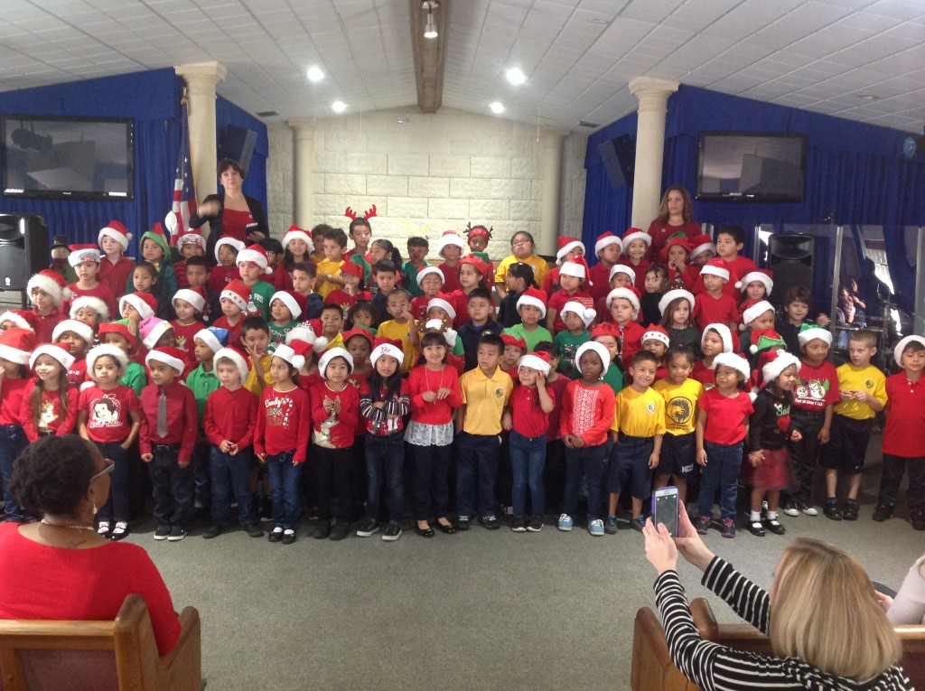 Elementary holiday show